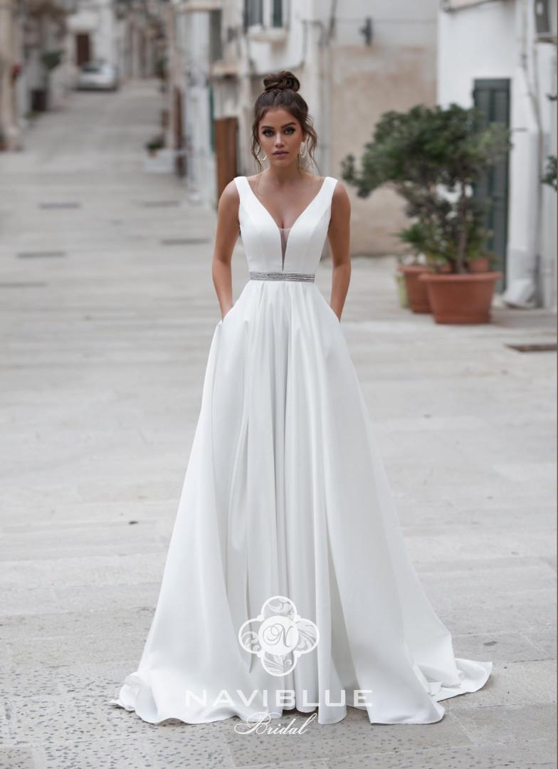 e97b6b9eed8 Свадебное платье со шлейфом купить в СПб, выгодная цена от салона ...