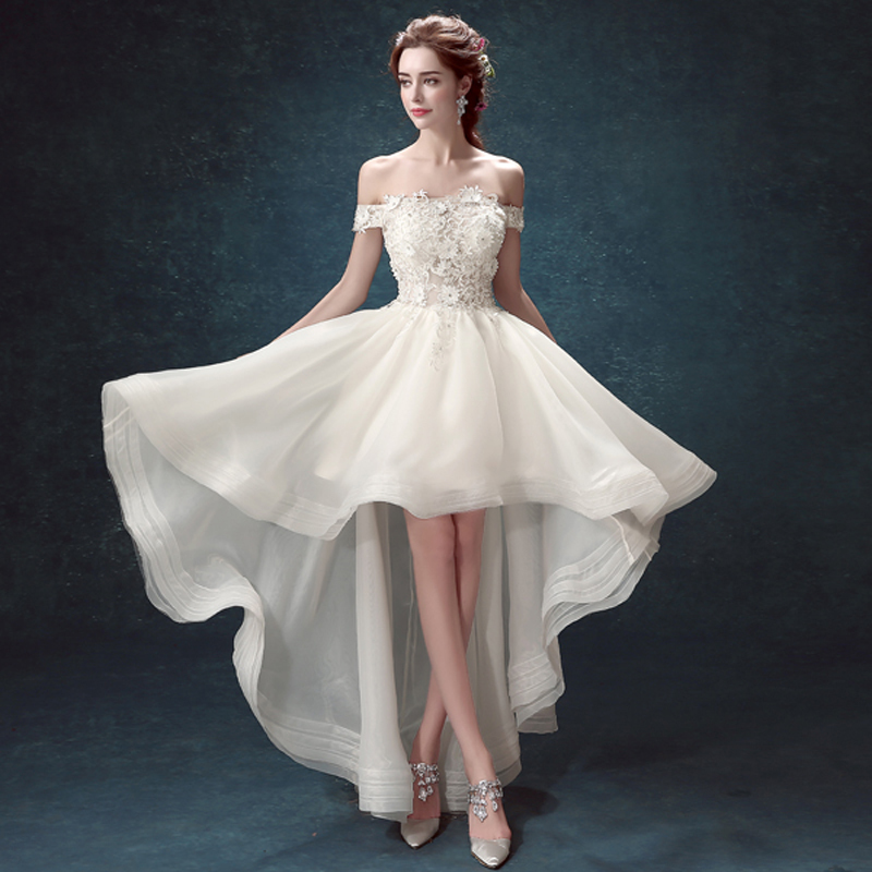 490732f0ff762c9 Выбираем свадебное платье короткое спереди длинное сзади
