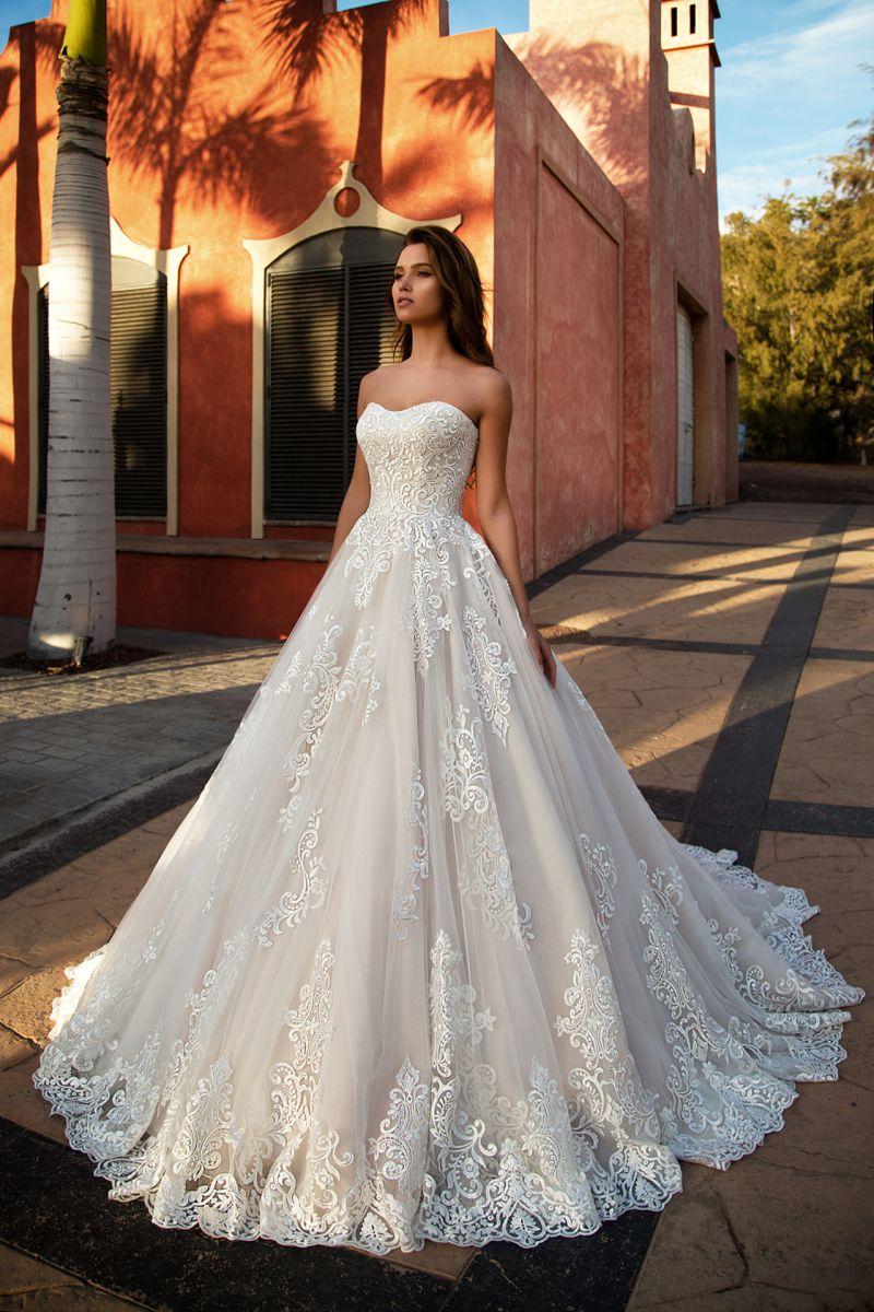 4b5794e73d88357 Покупаем очень пышное свадебное платье со шлейфом